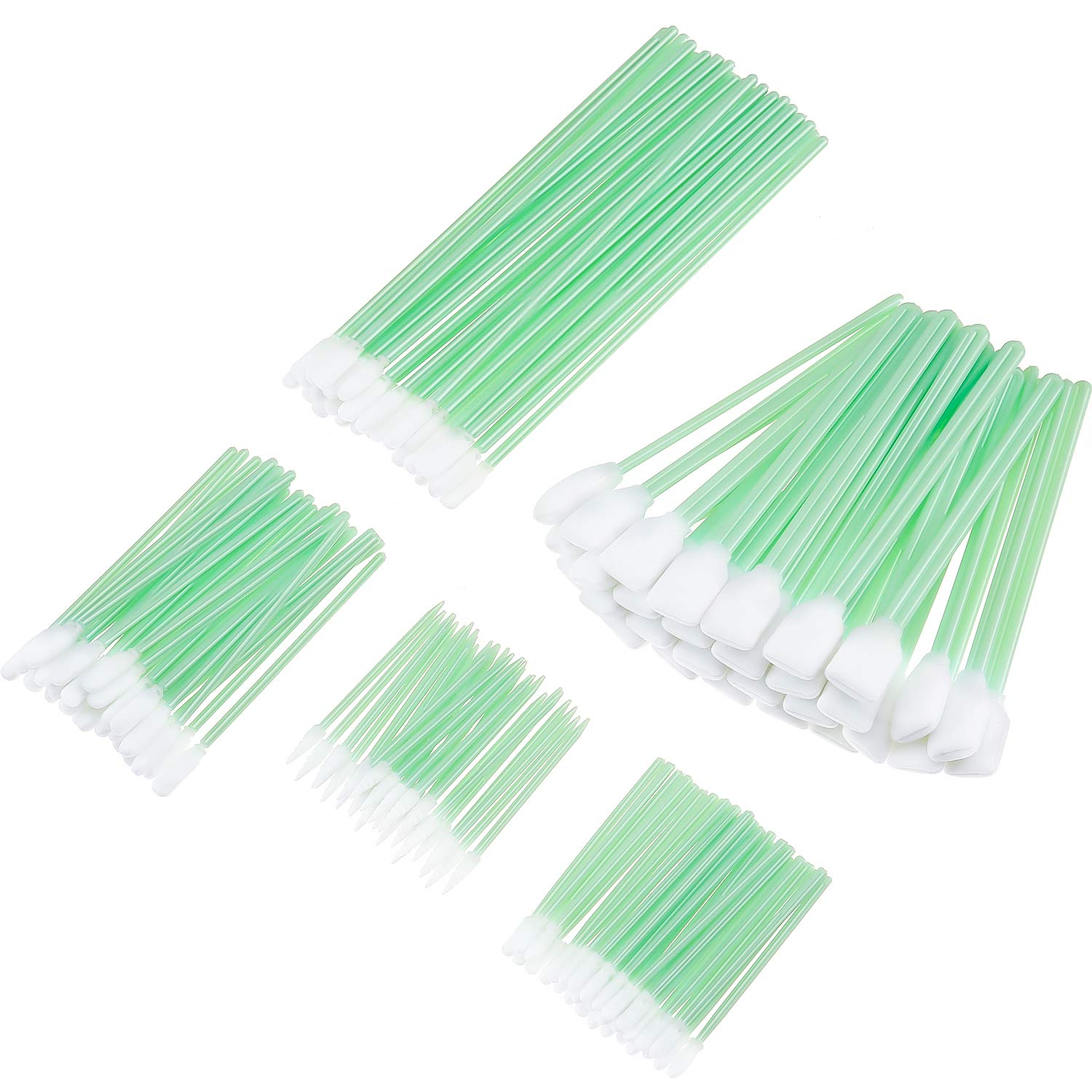 Non-Sterile Rayon Cleaning Swabsticks for Medical and Home Use Single use. Pack of 500 Long Paper Shaft Cleaning Swabs 8 Rayon-Tipped Applicators AMZ OB//GYN Swabsticks 8 Latex-Free