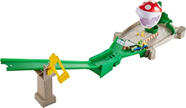 Hot Wheels Mariokart Piranha Plant Slide Track Set
