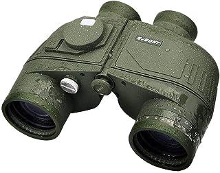 SVBONY 7x50mm Binocular Waterproof Military Binoculars with Rangefinder BAK4 Prism FMC Lens for Hunting Bird Watching Fish...