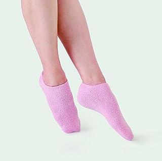 ECHO TOUCH エコタッチ 保湿 手袋 靴下 ハンドケア フットケア 手 足 かかと 乾燥 角質 手荒れ 肌荒れ (ゲル?ソックス?ピンク)