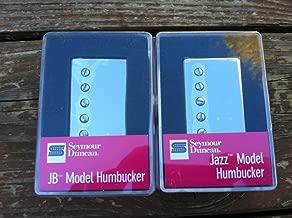 Seymour Duncan JB Jazz Hot Rodded PICKUP SET Humbucker SH-4 SH-2n Nickel