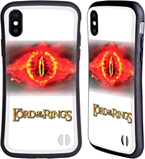 Official The Lord of The Rings: The Two Towers Eye of Sauron Character Art Hybrid Case Compatible for iPhone X/iPhone Xs