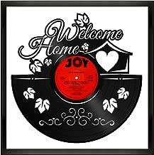 VinylshopUS - Housewarming Vinyl Wall Art with Framed Unique Art Design Gift for Home and Kids Room Decoration