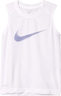Dominate Graphic Muscle Tank Top (Little Kids)