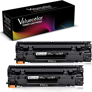 Valuecolor Compatible Toner Cartridge Replacement for Canon 137 CRG137 9435B001AA Used in ImageClass D570 MF216N MF229DW MF212W MF217W MF227DW MF232W MF249dw MF244dw LBP151dw MF236n MF247dw (2 Black)