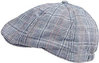 Baby Toddler Kid Newsboy Hat Flat Stripe Driver Cap Duckbill Cap