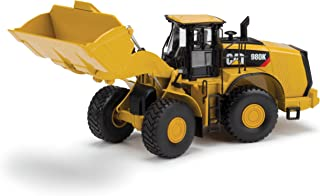 Norscot Cat 980K Wheel Loader 0 Material Handling Configuration Die Cast Vehicle (1:50 Scale), Caterpillar Yellow