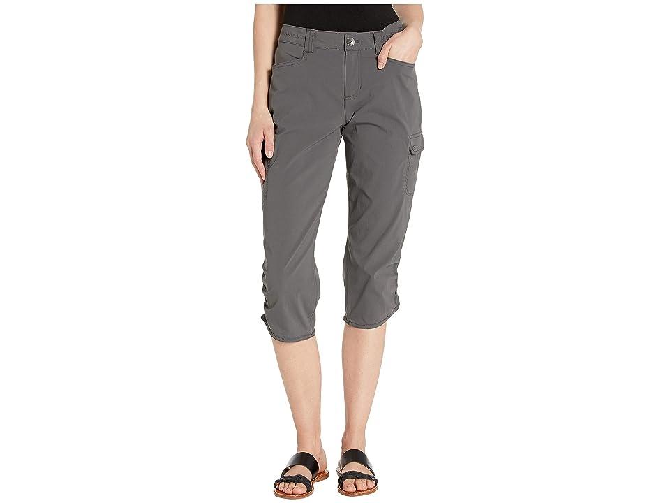 Eddie Bauer Horizon Capris (Dark Smoke) Women's Casual Pants