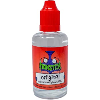 """Monster Premium Synthetic Valve Oil 