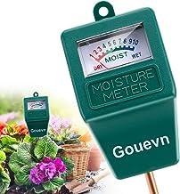 Gouevn Soil Moisture Meter, Plant Moisture Meter Indoor & Outdoor, Hygrometer..