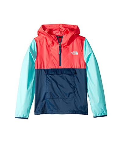 The North Face Kids Fanorak (Little Kids/Big Kids) (Blue Wing Teal) Girl