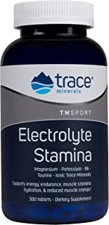 Trace Minerals Research Performance Electrolyte Stamina, High Performance Energy Formula of Balanced Ionic Minerals, 300 T...