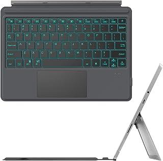 جراب نوع Fintie لهاتف Microsoft Surface Go 2 2020 / Surface Go 2018 ، 7 ألوان خلفية فائقة النحافة لوحة مفاتيح بلوتوث لاسلك...