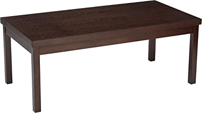 OSP Home Furnishings Main Street Coffee Table, Espresso