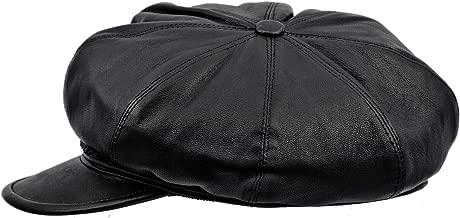 Sterkowski Genuine Leather 8 Quarters Balloon Arist Cap