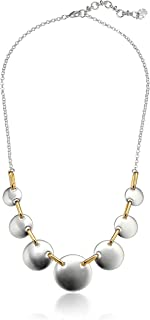 Lucky Brand Jewelry Circle Collar Necklace, Two Tone, JWEL5194, One Size