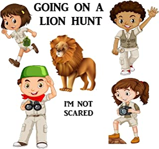 Going On A Lion Hunt Card Game