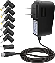ZOZO 10W 5V2a (2000mA) Multi Tip Switching Replacement AC Power Adapter Wall Charger for Android Tablets Webcam Routers Toys Recorder Bluetooth Speaker and More DC 5v Devices - coolthings.us