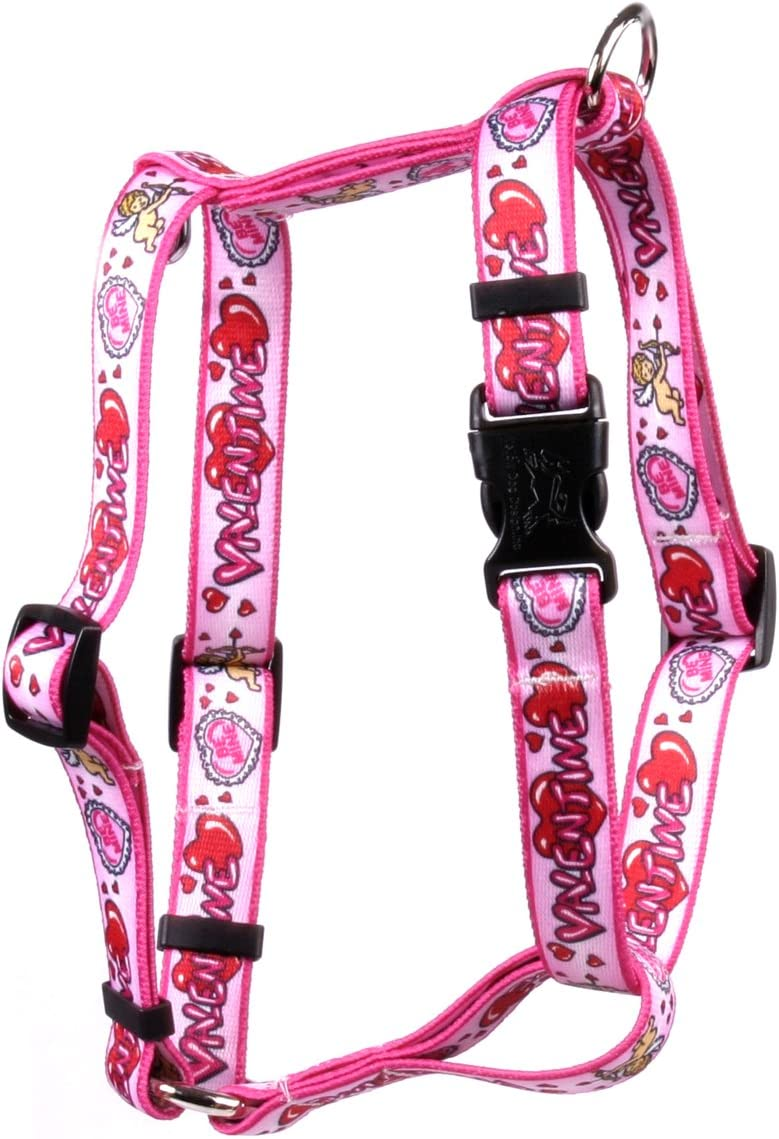 Yellow Louisville-Jefferson County Mall Dog Design Be My Roman Harness Style Ranking TOP1 H Valentine