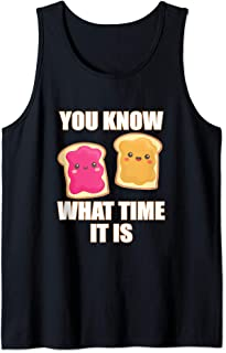 You Know What Time it Is - Peanut Butter & Jelly Tank Top
