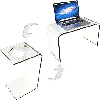 Lavish Home 80-ACRYL-DSK End Table