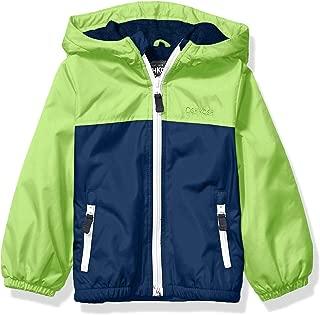 Boys' Midweight Fleece Lined Windbreaker Jacket
