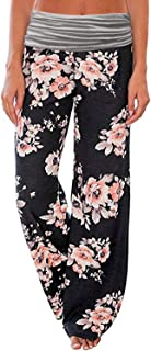 Women's Comfy Lounge Pants Stretch Wide Leg Palazzo Pants...
