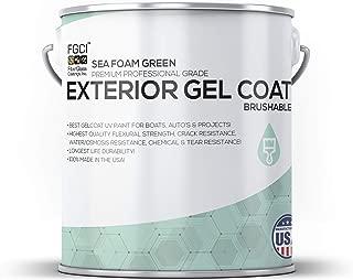 SEA FOAM GREEN Boat Paint, EXTERIOR GEL COAT KIT, 1 GALLON W/ 2 OZ MEKP, Fiberglass Coatings, Inc, PROFESSIONAL MARINE GELCOAT SPECIALISTS, Boat Exterior Hulls, Boat Interior Decking, DIY Projects