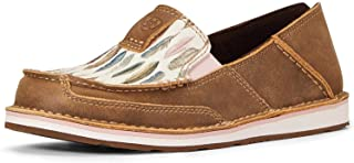 ARIAT Cruiser Brown Bomber/Watercolor Feather 6.5 B (M)