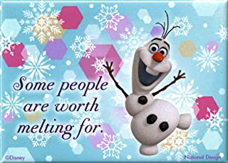 Frozen - Olaf Some People Are Worth Melting For Magnet 3 x 4in