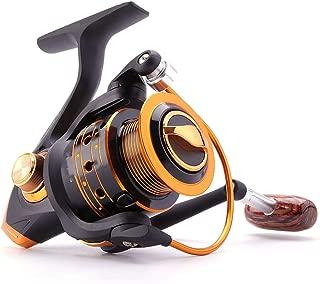 Wenzi-day Spinning Fishing Reel 12Bb + 1 Bearing Balls 500 9000 Series Metal Coil Spinning Reel Boat Rock Fishing Wheel