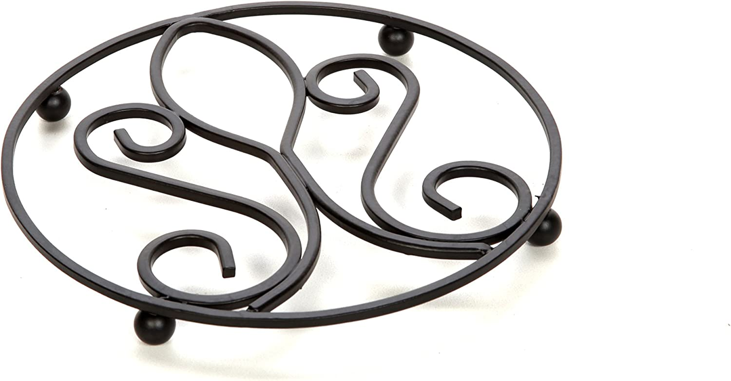 San Diego Mall Sales results No. 1 Hosley Wrought Iron Trivet Victorian Inch Pattern A Diameter 7.2