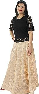Matelco Women's Brocade Skirt