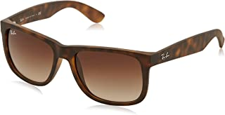 c4e5287853 Ray-Ban Justin RB4165 Sunglasses-710 13 Rubber Light Havana Brown Gradient