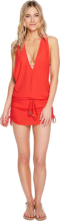 Cosita Buena T-Back Mini Dress Cover-Up