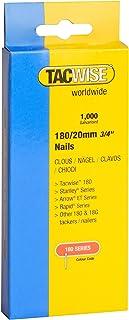Tacwise 0360 nagels verzinkt 180/20 mm (1.000 stuks)