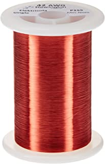 Remington Industries 42SNSPR.25 42 AWG Magnet Wire, Enameled Copper Wire, 4 oz, 0.0026