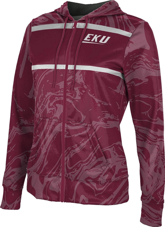 Eastern Kentucky University Girls' Zipper Hoodie, School Spirit Sweatshirt (Ripple)