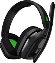 Logitech Astro A10 Wired Gaming Headset w/Boom Microphone & 3.5mm Plug (Renewed)