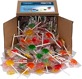 Lollipops - Classic Lollipops - Candy Suckers - Assorted Flavors - Bulk Candy - 2.5 Pounds