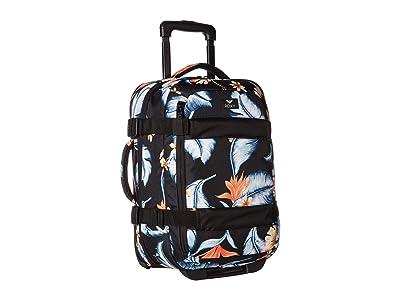 Roxy Wheelie 2 Suitcase (Anthracite/Tropical Love) Luggage