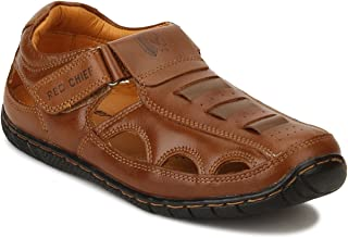Red Chief Men's Leather Sandals