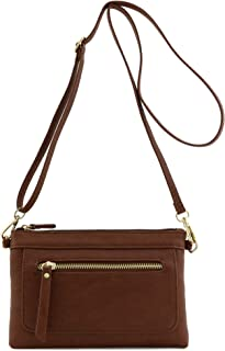 Multi-functional Wristlet Clutch and Crossbody Bag