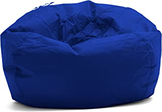 "Big Joe Classic 98 Bean Bag Chair, 33""L x 33""W x 20""H, Sapphire"