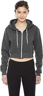 American Apparel Womens Cropped Flex Fleece Zip Hoodie (F397W)