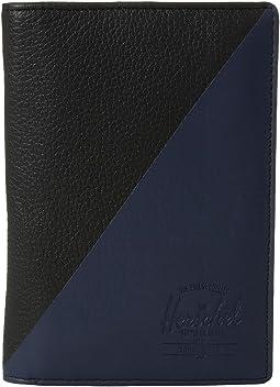 Herschel Supply Co. - Raynor Passport Holder Leather RFID