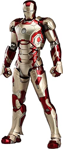 Figma Iron Man 3 Iron Man · Mark 42 (Non Scale ABS & PVC Made Painted Movable Figure)