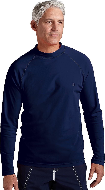a maniche lunghe colore: Argento Coolibar Maglietta da bagno da uomo