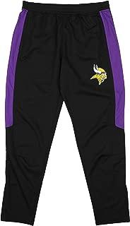 Zubaz NFL Men's Athletic Track Pant, Team Variation