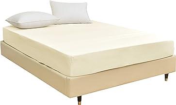 STRATO BEDDING - prześcieradło z gumką z mikrofibry (90 cm x 190 cm z kieszenią o rozmiarze 35 cm) na łóżko jednoosobowe, ...